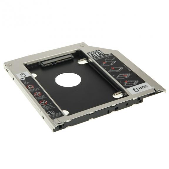 """AppleKing výměnný rámeček pro 2,5"""" HDD SATA disk 9,5mm se spodním krytem Apple MacBook Pro - možnost vrátit zboží ZDARMA do 30ti dní"""