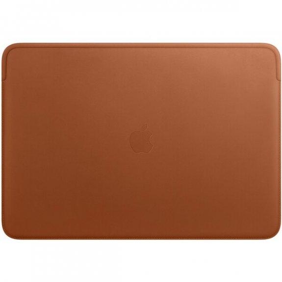 """Originální Apple kožené pouzdro pro MacBook Pro 16"""" - sedlově hnědé MWV92ZM/A - možnost vrátit zboží ZDARMA do 30ti dní"""