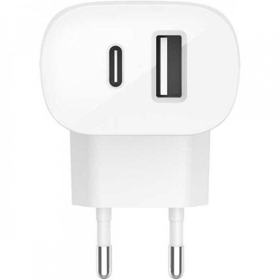 Belkin Boost Charge 30W duální síťová nabíječka s porty USB-A a USB-C F7U097vfWHT - možnost vrátit zboží ZDARMA do 30ti dní