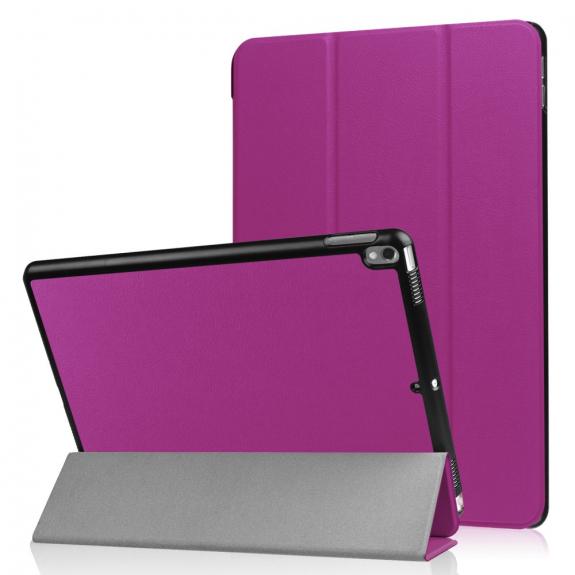 """AppleKing pouzdro / obal Smart Cover s funkcí uspání pro Apple iPad Pro 10.5"""" - fialové - možnost vrátit zboží ZDARMA do 30ti dní"""
