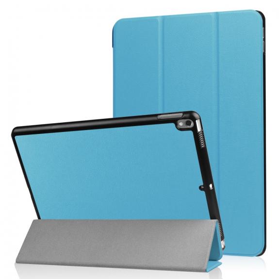 """AppleKing pouzdro / obal Smart Cover s funkcí uspání pro Apple iPad Pro 10.5"""" - světle modré - možnost vrátit zboží ZDARMA do 30ti dní"""