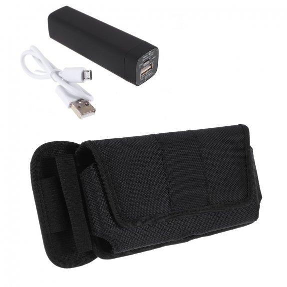 AppleKing powerbanka 2200 mAh s univerzálním pouzdrem na telefon - možnost vrátit zboží ZDARMA do 30ti dní