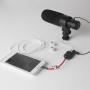 Aputure redukce / adaptér / rozbočovač 3.5mm audio jack pro sluchátka a mikrofon