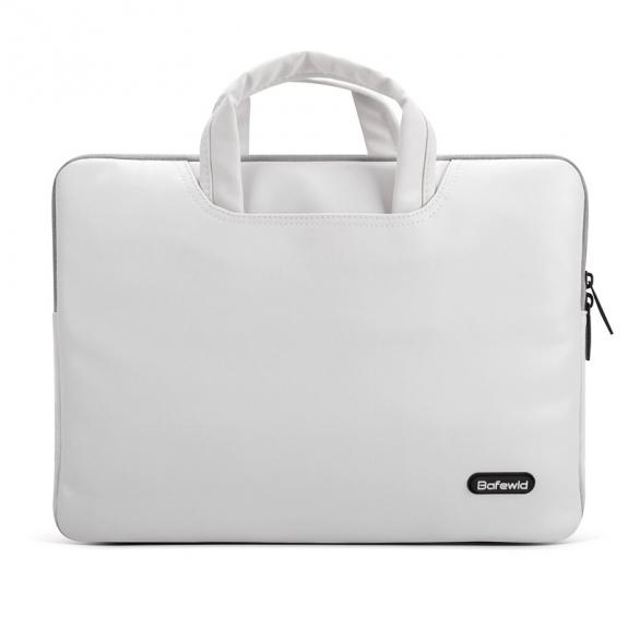 """Bafewld Brašna Jazz se zipem pro Apple MacBook Air / Pro 13"""" - bílá - možnost vrátit zboží ZDARMA do 30ti dní"""