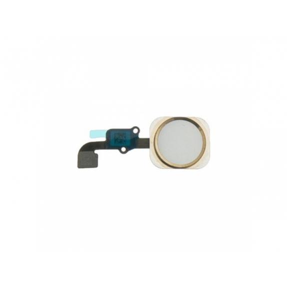 AppleKing náhradní Home Button s flex kabelem pro Apple iPhone 6 - zlatý - možnost vrátit zboží ZDARMA do 30ti dní
