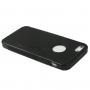 """Ochranný gumový kryt """"S line"""" pro iPhone 5 / 5S / SE - černý"""