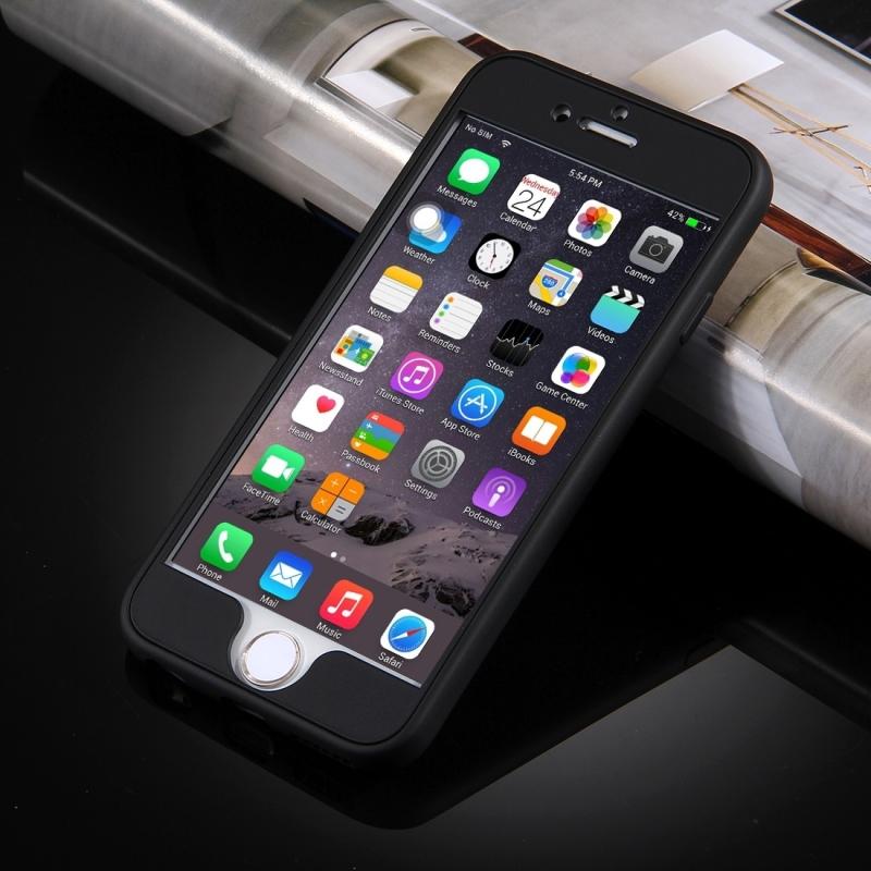 ... Plastový kryt na iPhone 6   6S s 360° ochranou - chrání přední i zadní  ... 9b73234d58c