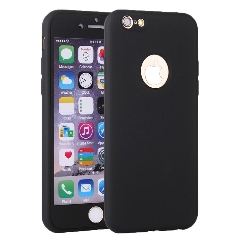Plastový obal na iPhone 6   6S s 360° ochranou - chrání přední i zadní ... 07319979e21
