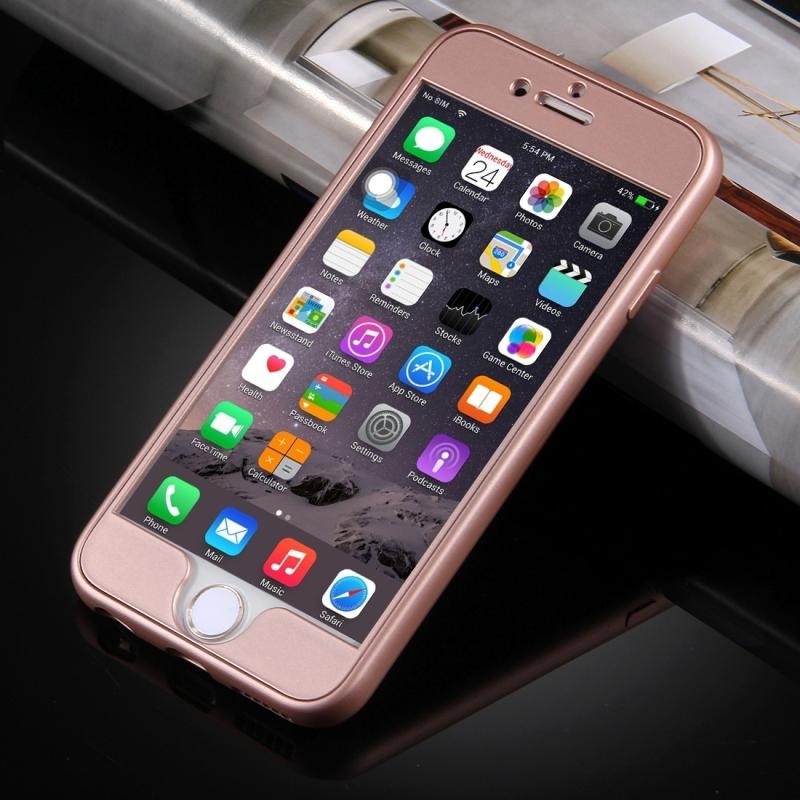 ... Plastový obal na iPhone 6 Plus   6S Plus s 360° ochranou - chrání přední  ... 56ac6ebd163