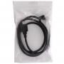 Prodlužovací kabel lightning Male / Female pro iPhone / iPad / iPod - 1m - černý