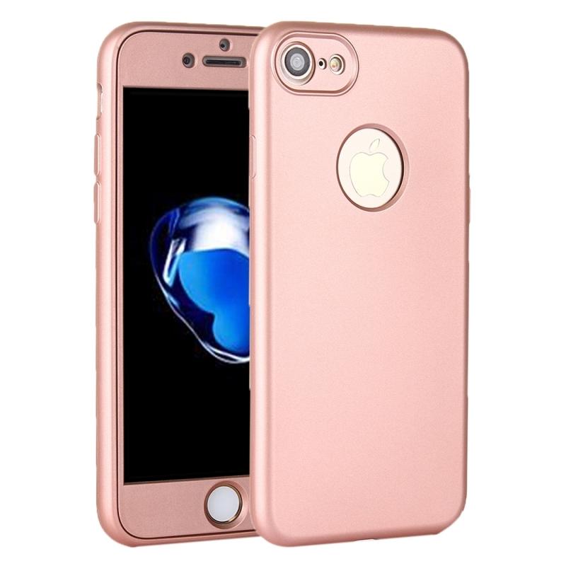 Silikonový obal na iPhone 8   7 s 360° ochranou - chrání přední i zadní ... b0266ac0238