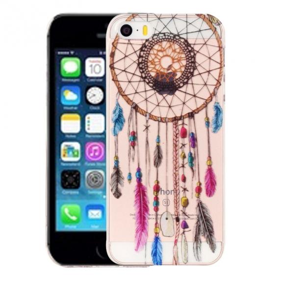 AppleKing kryt na iPhone 5 / 5S / SE - výtvarné zpracování - indiánský vzor - možnost vrátit zboží ZDARMA do 30ti dní