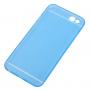 Ultra tenký plastový kryt pro iPhone 6 / 6S - s ochranou zadní kamery - modrý