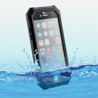 BOLISH Voděodolný a prachuvzdorný IP68 obal na iPhone 6 / 6S - černý
