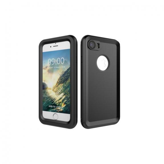 Vodotěsné pouzdro na potápění do hloubky 3m pro iPhone 8 / 7 - černé - možnost vrátit zboží ZDARMA do 30ti dní