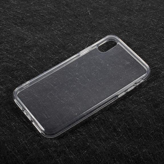 AppleKing tenký poloprůhledný kryt na iPhone XS / iPhone X - průhledný - možnost vrátit zboží ZDARMA do 30ti dní