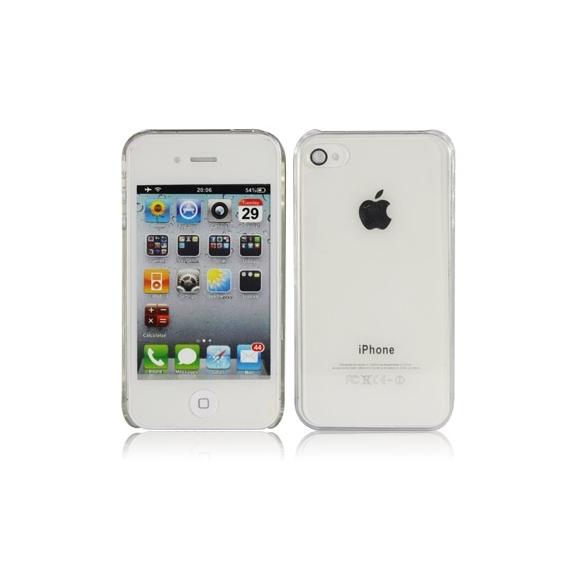 "Kryt / obal ""crystal"" pro iPhone 4S / 4 - průhledný"