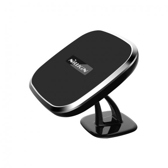 NILLKIN designový magnetický držák s Qi bezdrátovým nabíjením pro Apple iPhone - černý - možnost vrátit zboží ZDARMA do 30ti dní