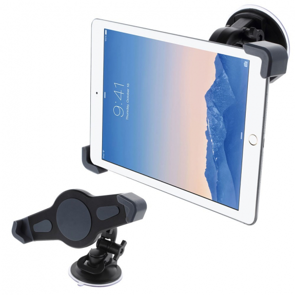 AppleKing univerzální otočný držák do auta s přísavkou pro Apple iPad - možnost vrátit zboží ZDARMA do 30ti dní