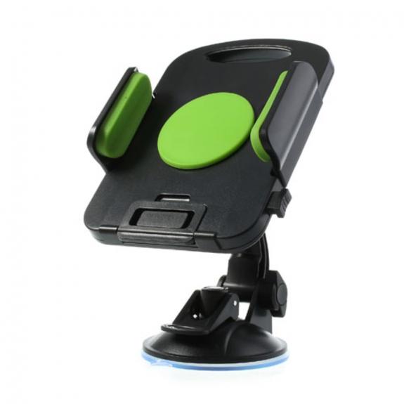 AppleKing držák do auta s přísavkou otočný 360° pro iPad - zelený - možnost vrátit zboží ZDARMA do 30ti dní
