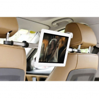 Držák do auta mezi přední sedadla s uchycením na opěrky na iPad