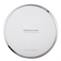 NILLKIN rychlá bezdrátová nabíječka / nabíjecí podložka Qi Magic Disk III pro Apple iPhone - bílá