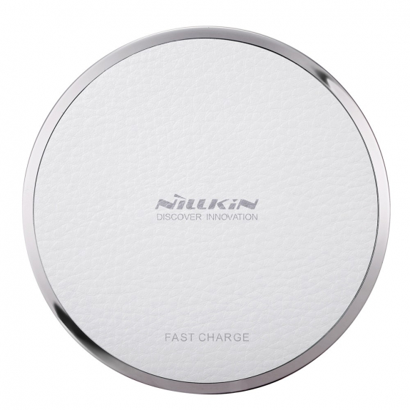 NILLKIN rychlá bezdrátová nabíječka / nabíjecí podložka Qi Magic Disk III pro Apple iPhone - bílá - možnost vrátit zboží ZDARMA do 30ti dní
