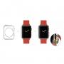 Gumové pouzdro pro Apple Watch 42mm (tl. 0,8mm) - průhledné
