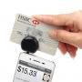 Čtečka platebních karet s 3.5 mm jack konektorem pro Apple iPhone - černá