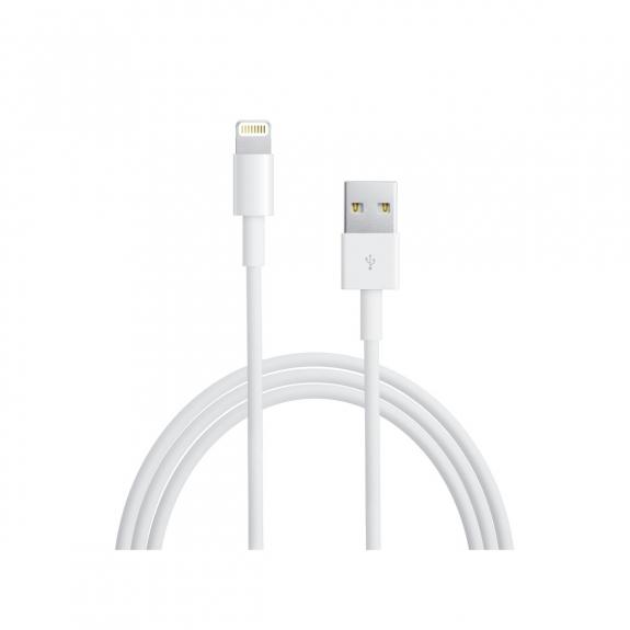 Originální Apple kabel na iPhone / iPad / iPod - Lightning - MD818ZM/A - 1m - bílý - možnost vrátit zboží ZDARMA do 30ti dní