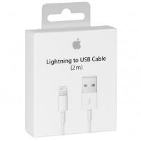 Originální Apple kabel v krabičce na iPhone / iPad / iPod - Lightning - MD819ZM/A - 2m - bílý
