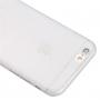 Tenký plastový kryt pro iPhone 6 Plus / 6S Plus s ochranou čočky - průhledný
