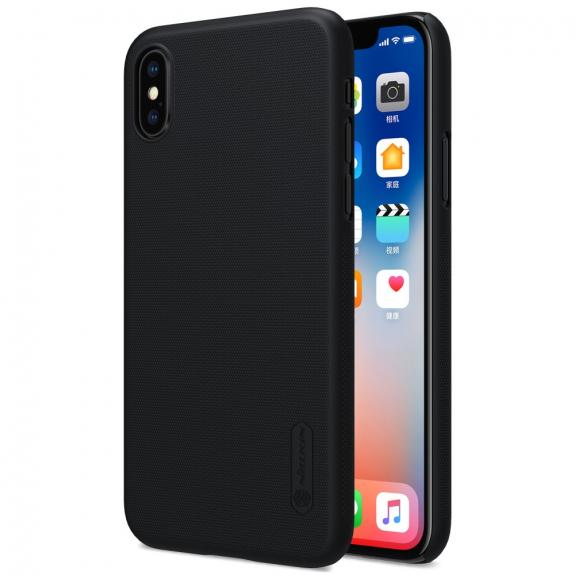 NILLKIN zadní kryt s ochranou displeje pro Apple iPhone XS / iPhone X - černá - možnost vrátit zboží ZDARMA do 30ti dní