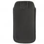 Pouzdro s vytahovacím poutkem pro iPhone 5 / 5S / SE - černé