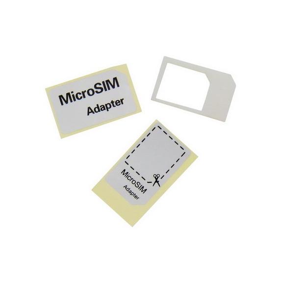 AppleKing redukce Micro SIM na standardní rozměr SIM karty - možnost vrátit zboží ZDARMA do 30ti dní