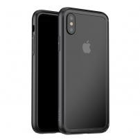 BASEUS ochranný rámeček pro Apple iPhone X - černá
