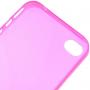 Ultra tenký (0.3mm) poloprůhledný matný kryt pro iPhone 4 / 4S - růžový