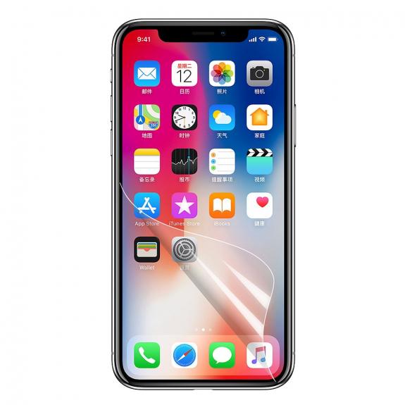 AppleKing ochranná fólie pro Apple iPhone X - ultra čistá průhlednost - možnost vrátit zboží ZDARMA do 30ti dní