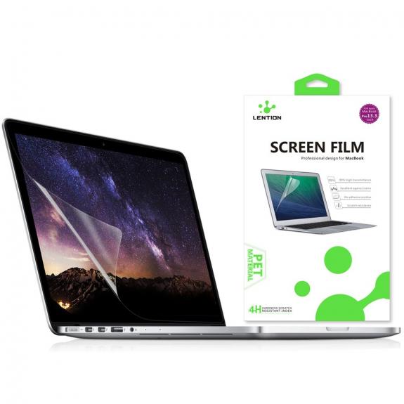 """AppleKing lENTION ochranná fólie pro Macbook Pro 13"""" - HD čirá - možnost vrátit zboží ZDARMA do 30ti dní"""