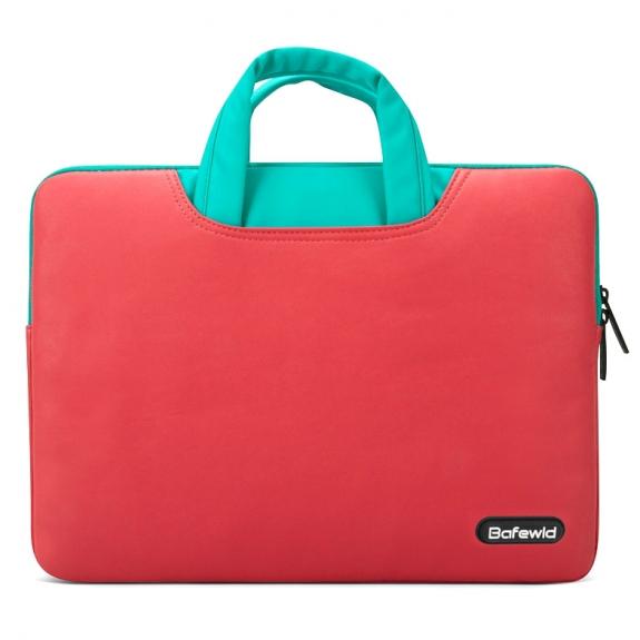 """Bafewld Brašna Jazz se zipem pro Apple MacBook Air / Pro 13"""" - červená - možnost vrátit zboží ZDARMA do 30ti dní"""