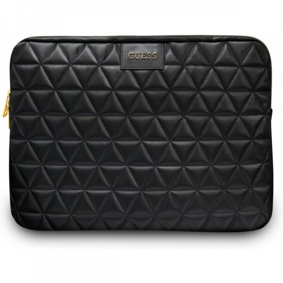 """Guess Quilted prošívaná brašna pro MacBook 13"""" - černá 3700740471562 - možnost vrátit zboží ZDARMA do 30ti dní"""