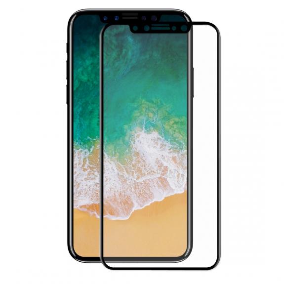 ENKAY super odolné 3D tvrzené sklo pro iPhone X / XS / 11 Pro - 0,2 mm - černá - možnost vrátit zboží ZDARMA do 30ti dní