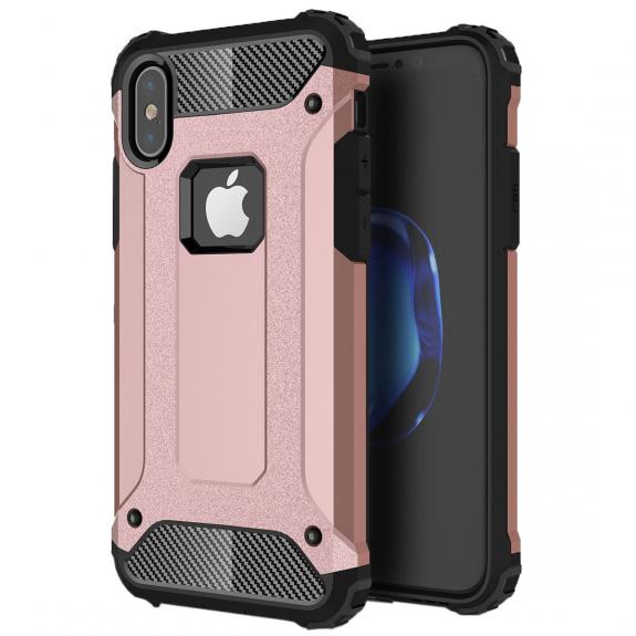 """AppleKing super odolný """"Armor"""" kryt na iPhone XS / iPhone X - rose gold - možnost vrátit zboží ZDARMA do 30ti dní"""
