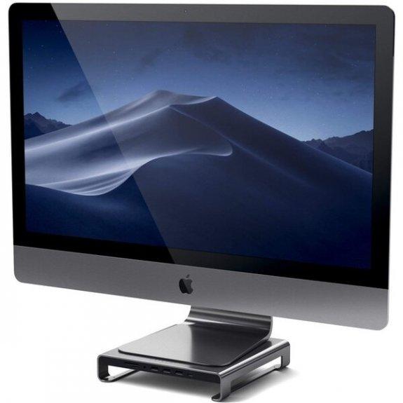 Satechi multi-portový hliníkový stojánek na počítač iMac - vesmírně šedý ST-AMSHM - možnost vrátit zboží ZDARMA do 30ti dní