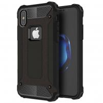 "Super odolný ""Armor"" kryt na iPhone XS / iPhone X - černý"