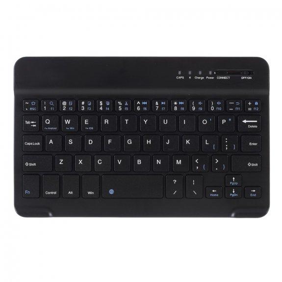 AppleKing 2v1 bezdrátová Bluetooth klávesnice - černá - možnost vrátit zboží ZDARMA do 30ti dní
