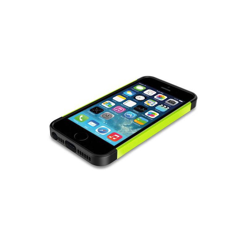 Odolný obal na iPhone 5   5S   SE - zelený - AppleKing.cz 451957b7152
