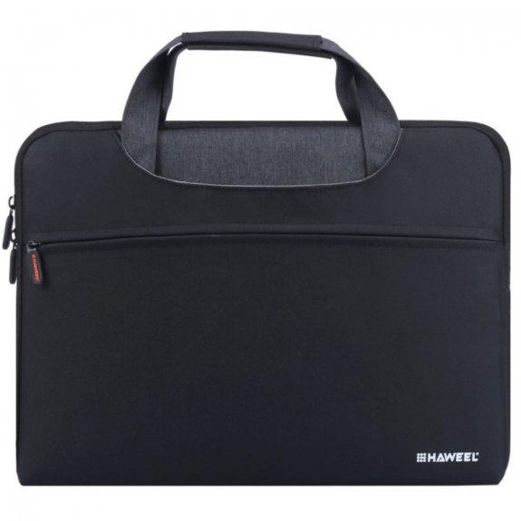 """HAWEEL voděodolná brašna pro MacBook 13"""" / Pro 13"""" / Air 13"""" - černá - možnost vrátit zboží ZDARMA d"""
