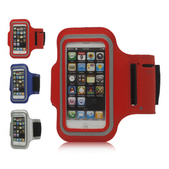 Sportovní pouzdro na ruku pro Apple iPhone 5 / 5S / SE - černé