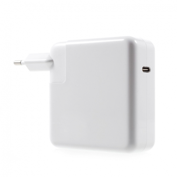 "AppleKing nabíječka / adaptér na Apple Macbook Pro 13"" - 61W s konektorem USB-C / A1718 - možnost vr"